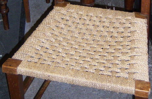 Chair Repairs Montrose Angus Scotland - Seagrass Chair